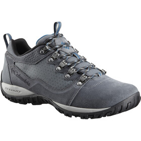 Columbia Peakfreak Venture Low Suede WP Shoes Men Graphite/Phoenix Blue